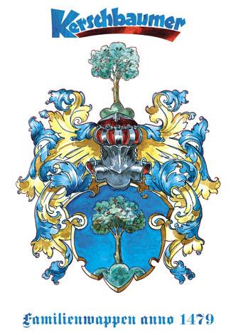 Kerschbauer Familienwappen anno 1479